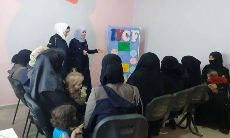 Awareness raising sessions on suicide prevention in Aleppo Countryside – 10 October 2019 (IDA)