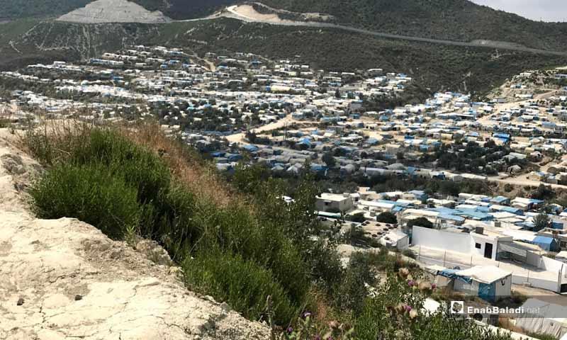 Camps of Kherbet Eljoz in the western countryside of Idlib-September 28, 2019 (Enab Baladi)