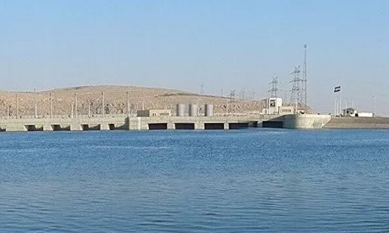 Tishrin dam on the Euphrates River, 18 November 2019 (RIA Novosti)