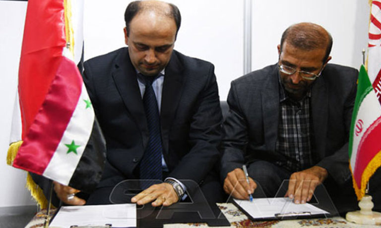 Signing of an agreement between Iran and Syria to generate electricity in Homs - September 5 (SANA)