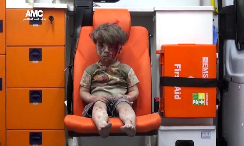 Omran Daqneesh (Aleppo Media Center)