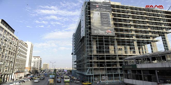 Yalbugha complex in downtown Damascus (SANA)