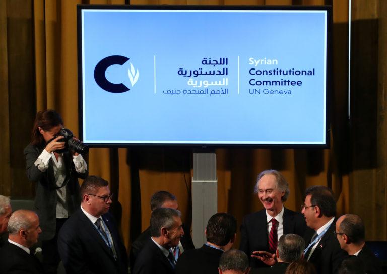 Constitutional Committee meeting in Geneva - October 30, 2019 (Reuters)