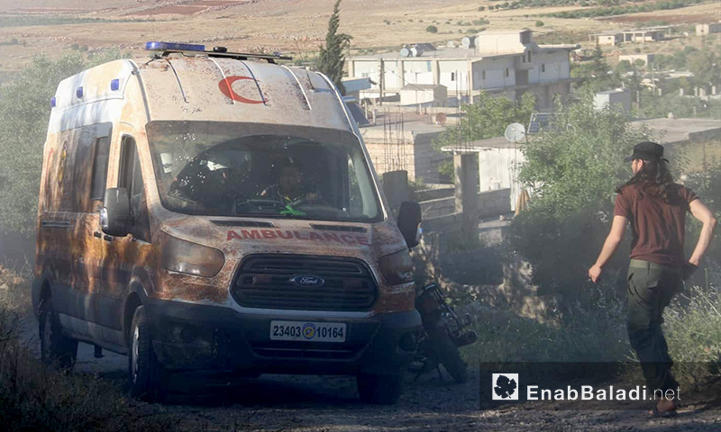 Impacts of Russian and Syrian regimes' attack on the village of Sfuhen in the southern countryside of Idlib - 26 May 2019 (Enab Baladi)