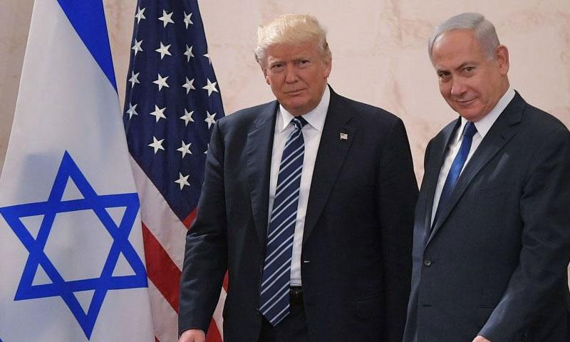 US President Donald Trump and Israeli Prime Minister Benjamin Netanyahu (Sputnik)