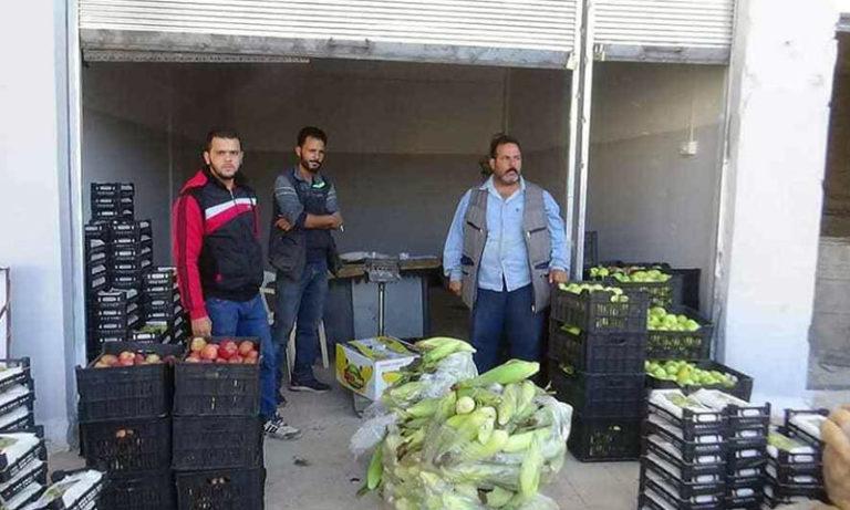 Souq al-Hal Market in Daraa, October 9, 2019 (Daraa al-Habiba Facebook page)
