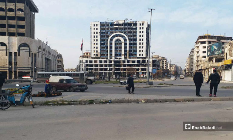 City Center Complex, in the center of Homs - December 24, 2019 (Enab Baladi)