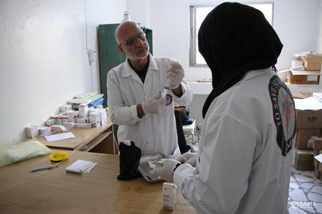 Oncology Hospital in Idlib - November 2019 (SAMS Facebook page)