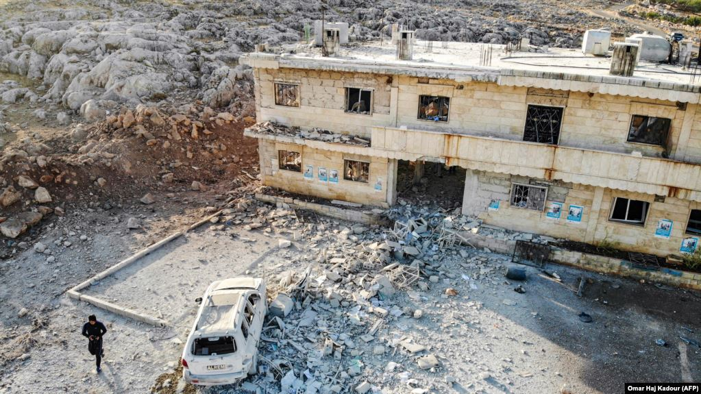 Targeting hospitals in Idlib - May 2019 (AFP)