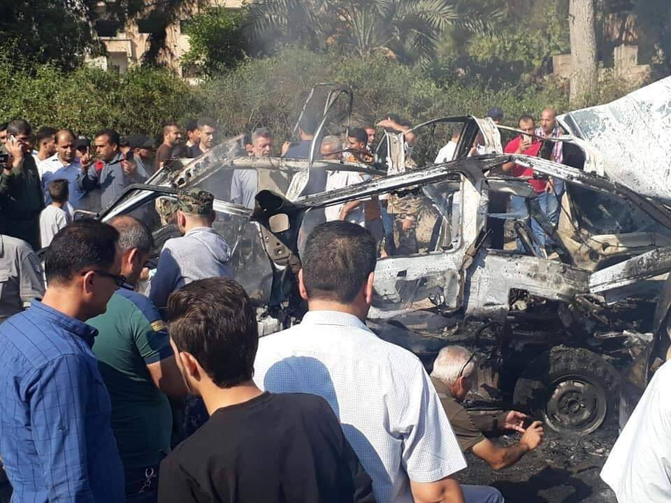 Bombing in the city of Qamishli in Hasakah - July 11, 2019 (City of Love Qamishli Facebook page)