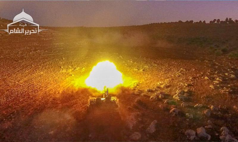 Military exercises for HTS in Idlib - November 2018 (HTS)