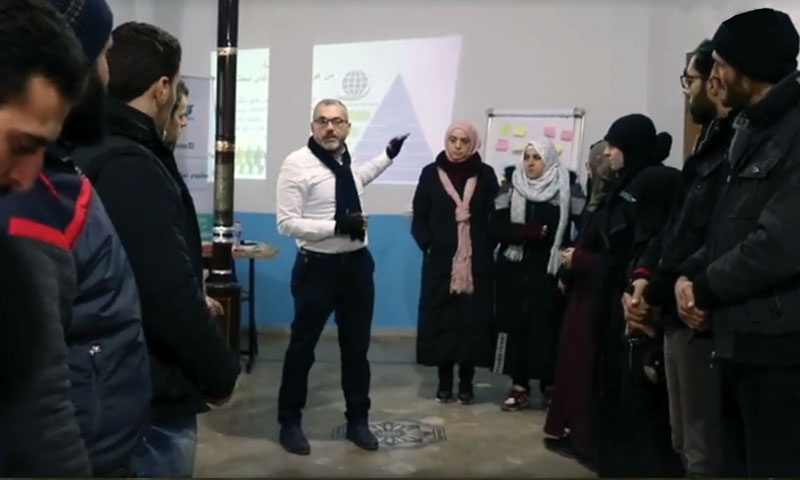 From the activities of the workshop - January 20, 2020 (Facebook page of the Syrian Association for Citizen's Dignity)