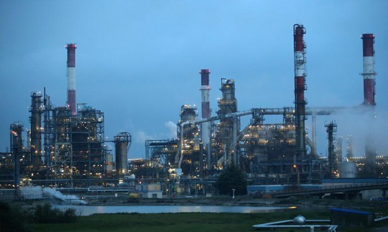 Oil refinery of French Total company (Reuters)
