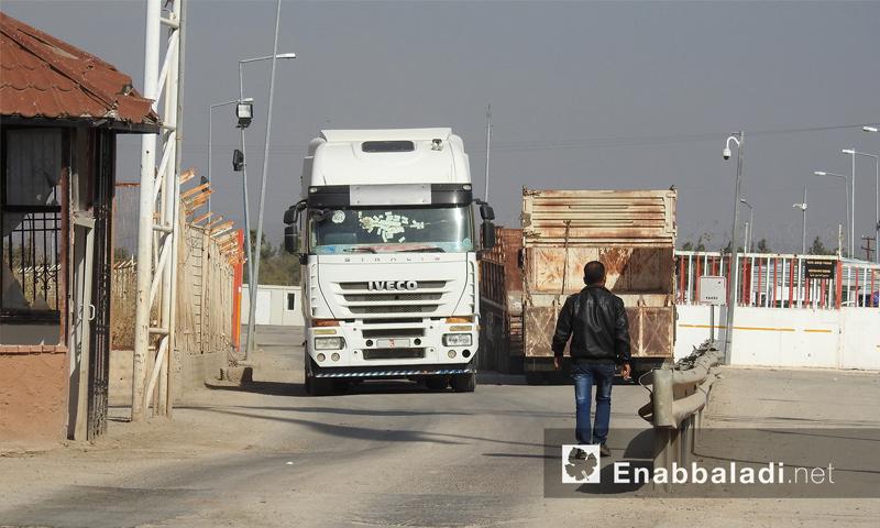 Bab al-Salama border crossing with Turkey - November 15, 2017 (Enab Baladi)