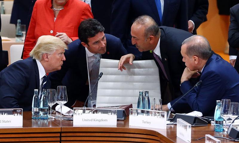Turkish President Recep Tayyip Erdoğan and US President Donald Trump (Getty Images)