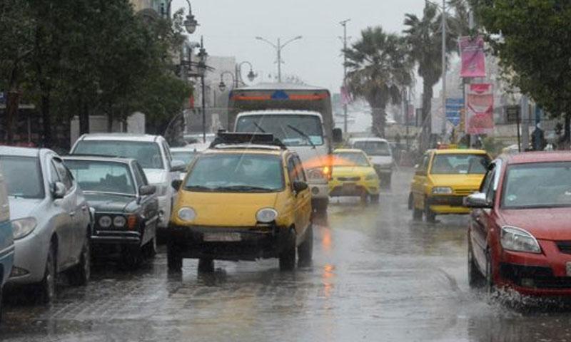 A street in Homs city center- February 2020 (SANA)