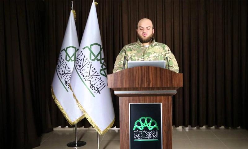 The former spokesperson for Jaysh al-Islam, Islam Alloush (Video)