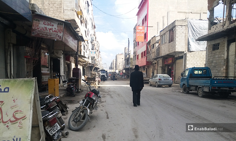 A tour in the neighborhoods of Douma city, Eastern Ghouta- 12 March 2020 (Enab Baladi)