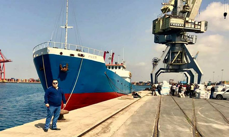 First shipment from Syria to Libya 21 March 2018 (SANA news agency)