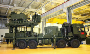 """""""Koral"""" radar jamming system introduced in a ceremony to the Turkish military service ( Anadolu news agency)"""