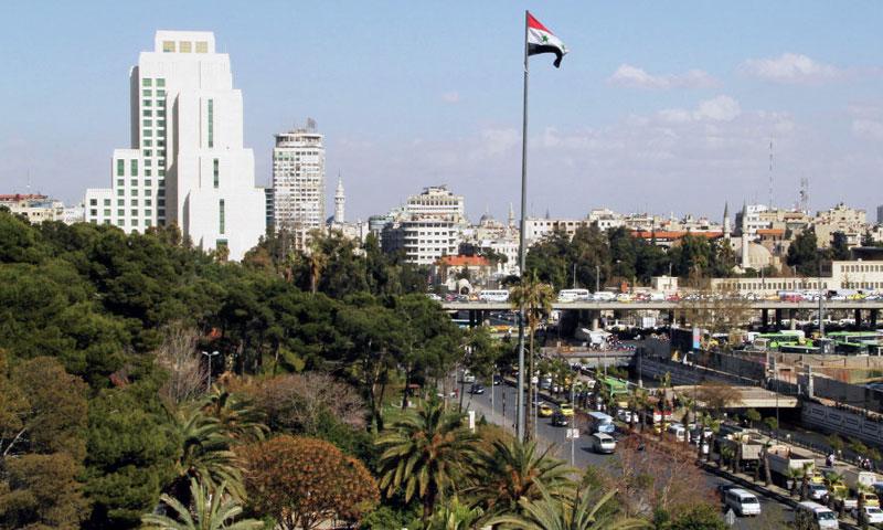 Four Seasons Hotel in Damascus' city center (Sputnik)