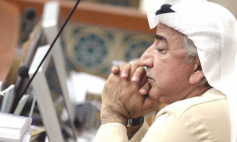 The former member of Kuwait's National Assembly, Abdul Hameed Dashti (Alhakea)