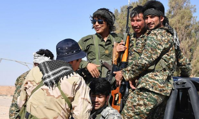 Elements of Iranian backed- militias in Syria (German News Agency)