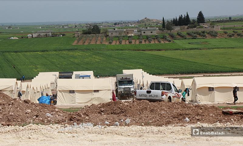 Bhorta village camp for internally displaced people (IDP) in northern rural Aleppo – 16 April 2020 (Enab Baladi)