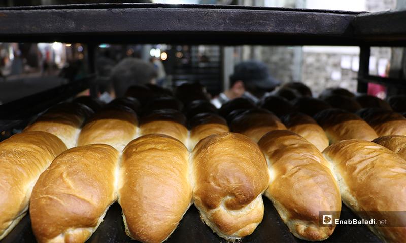 A bakery in al-Bab city in Aleppo countryside on the first night of Ramadan – 23 April 2020 (Enab Baladi)