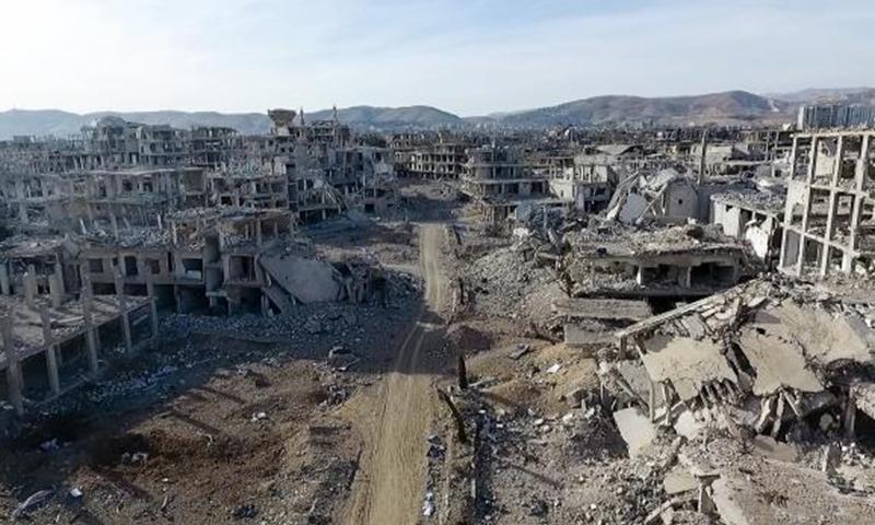 The Eastern Ghouta region in Damascus 2018 (Anadolu Agency - Ammar al-Bushi)