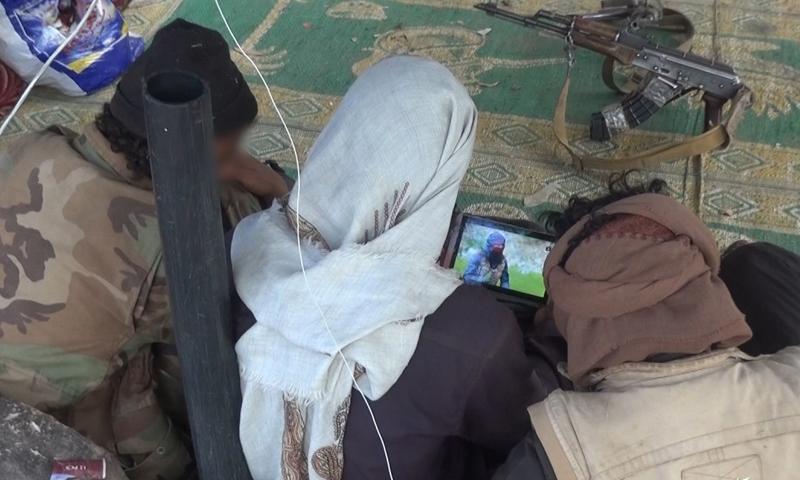 IS member in Yemen - Ramadan 2020 (Amaq news agency)