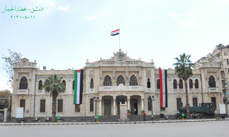 Al-Hejaz Railway Station building - 11 April 2020 (the General Foundation for the al-Hejaz Railway Station)
