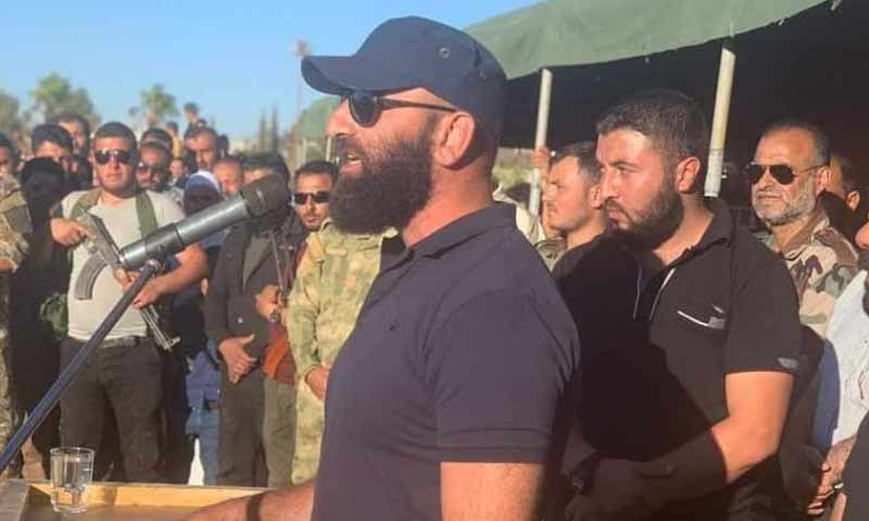 The commander of the Russian-backed 5th Corps in Daraa province, Ahmed al-Awda (Horan Free League)