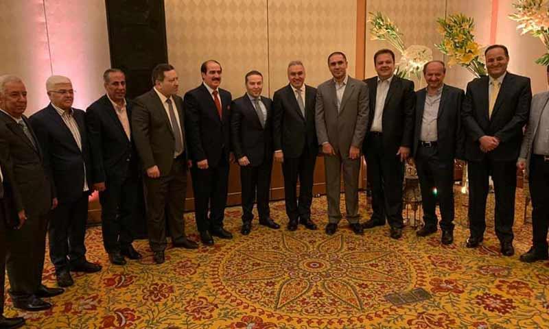 Syrian businessmen, Samer Fawz, Samer al-Debs and Fares al-Shihabi - 27 May (Economy Today website)