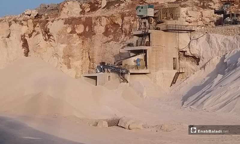 Stone quarries in northern Syria - June 2020 (Enab Baladi / Iyad Abdel Jawad)
