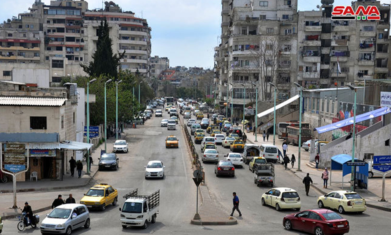 Al-Ziraat neighborhood in latakia (SANA)