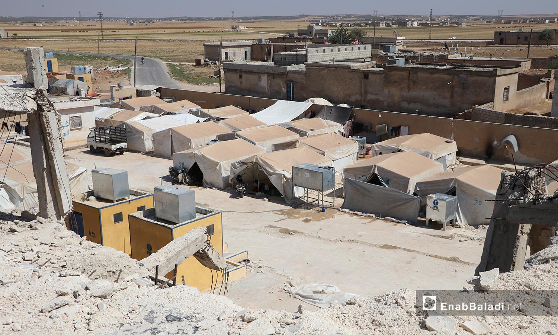 Qibtan Camp near Akhtarin town in northern Aleppo countryside – 17 July 2020 (Enab Baladi / Asim Melhem)