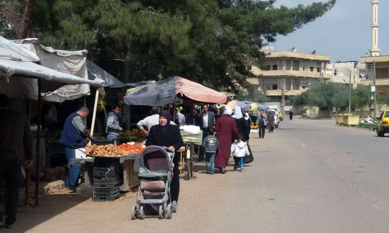 Markets in the city of Daraa- 15 March 2019 (SANA agency)