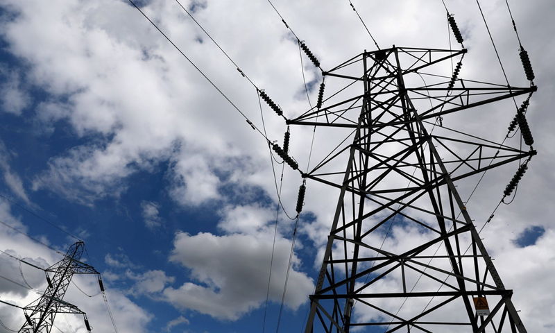Electricity Poles (Expressive photo)-(Reuters)
