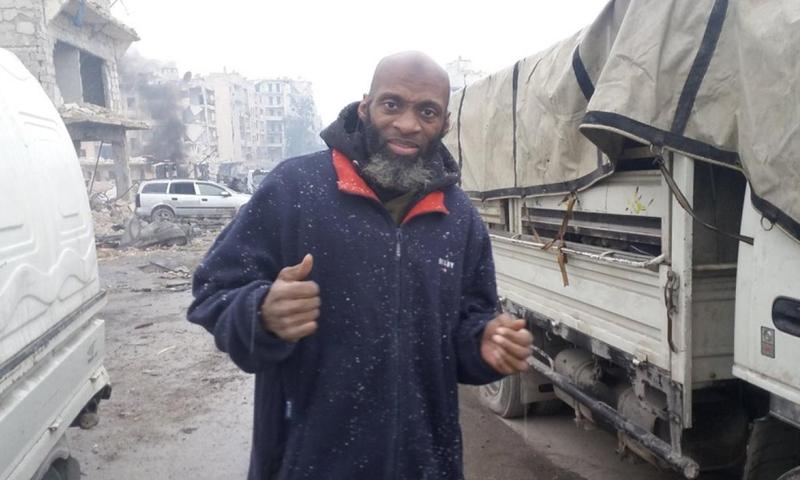 US journalist Bilal Abdul Kareem (MEE)