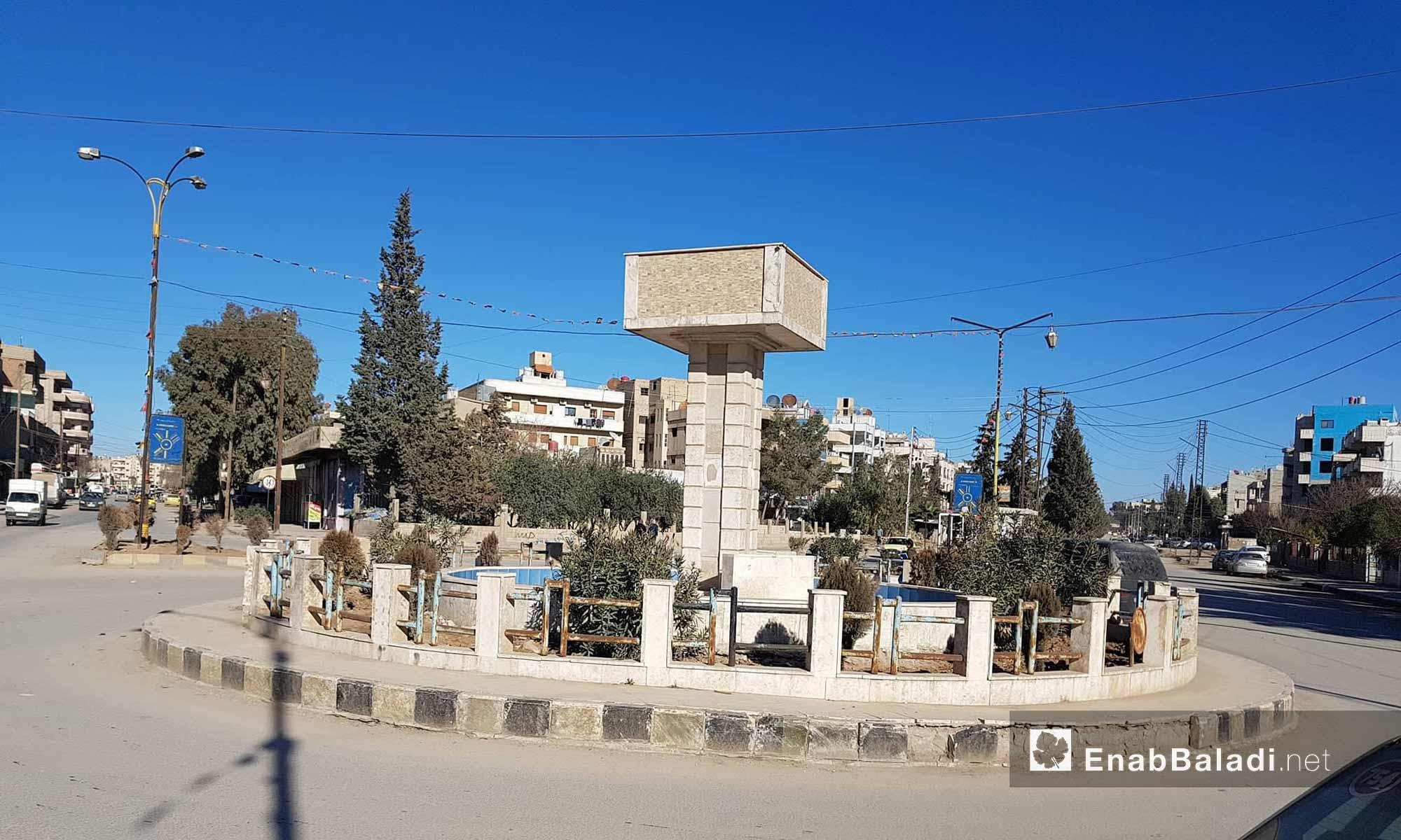 The neighborhoods of the al-Qamishli, the largest area of al-Hasakah province, north of Syria - 30 January 2018 (Enab Baladi)