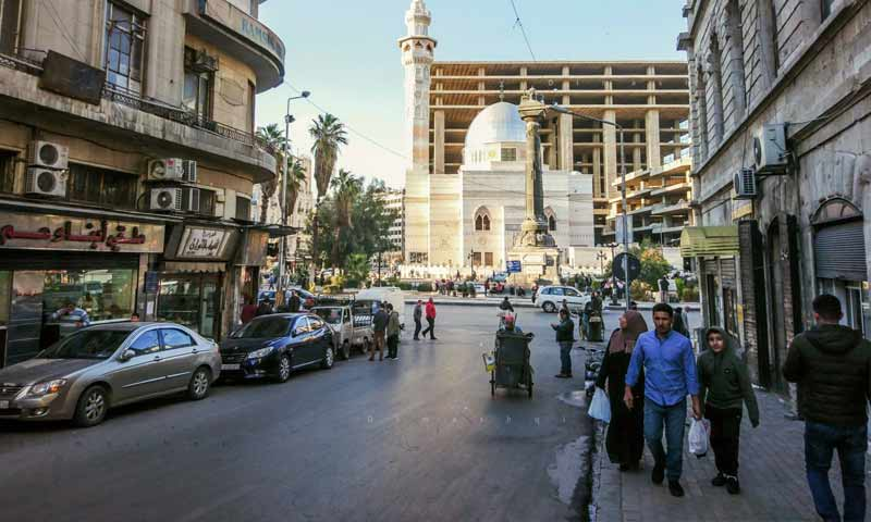 Marjeh Square in the center of the capital, Damascus - 12 December 2019 (Lens young Dimashqi)