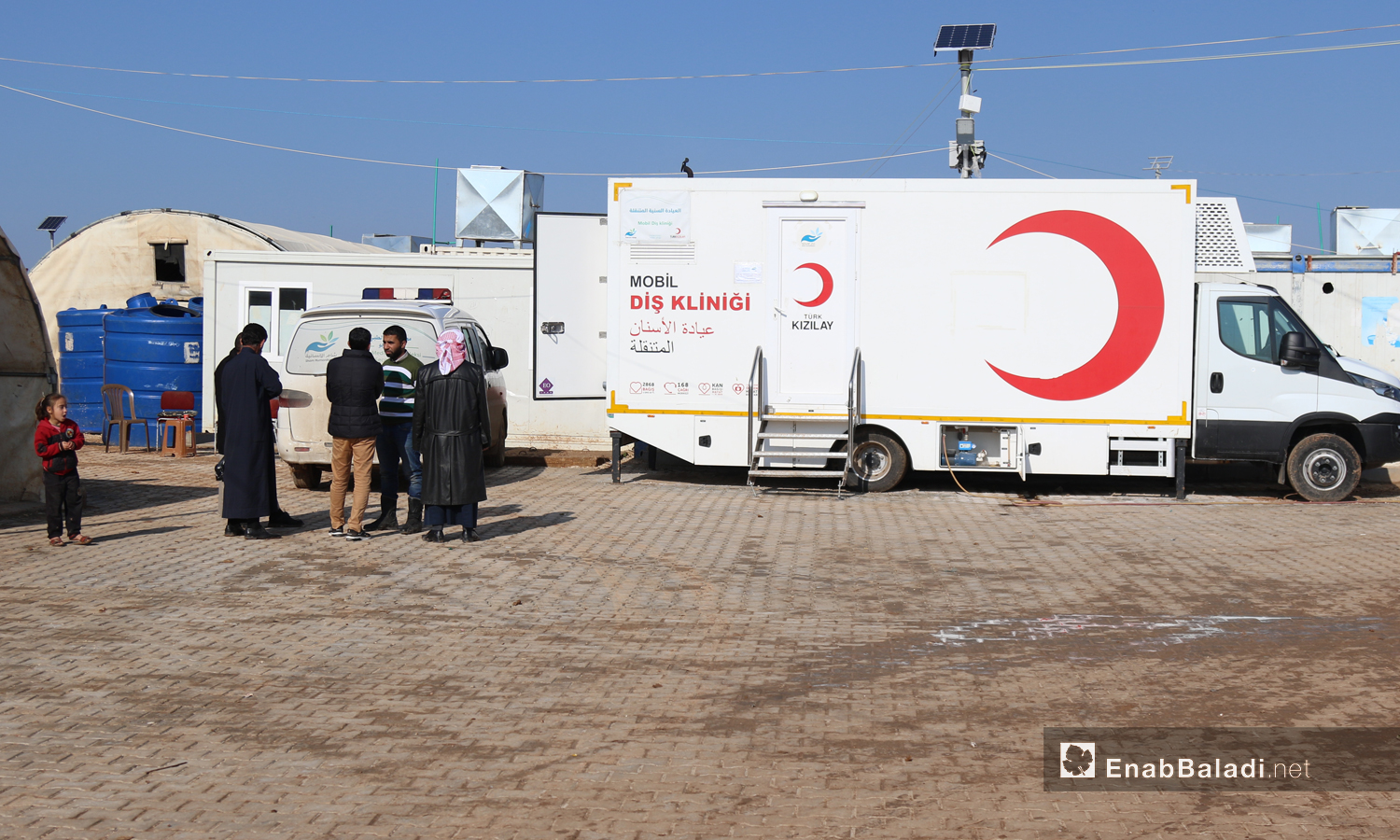 Mobile dental clinic in the countryside of Aleppo - 7 December 2019 (Enab Baladi).