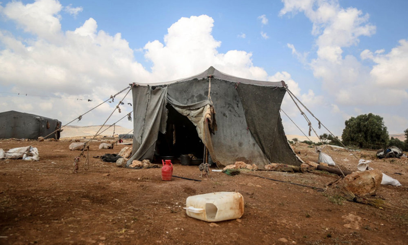 Tent for the displaced in Idlib governorate - 2019 (PIN)