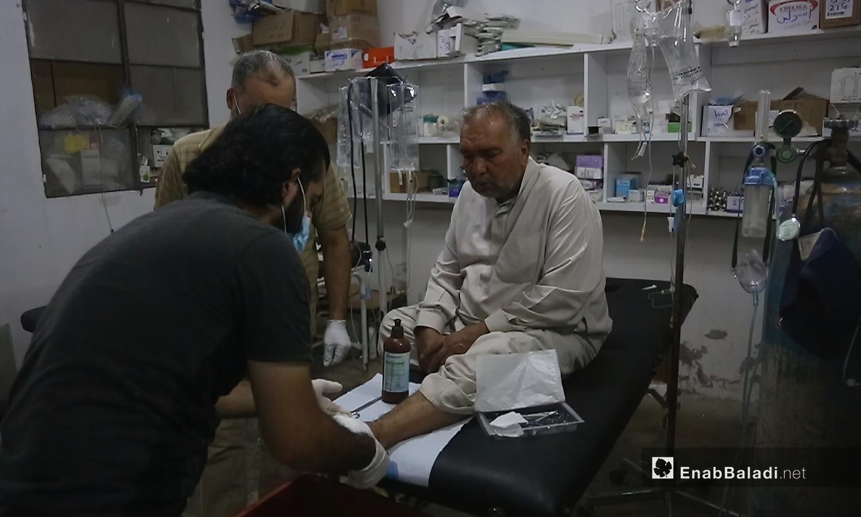 A medical point in Jabal al-Zawiya in Idlib countryside - October 2020 (Enab Baladi / Youssef Gharibi)