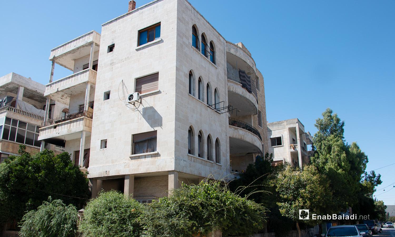 A residential building in one of the neighborhoods in Idlib city - 14 July 2020 (Enab Baladi - Anas al-Khouli)