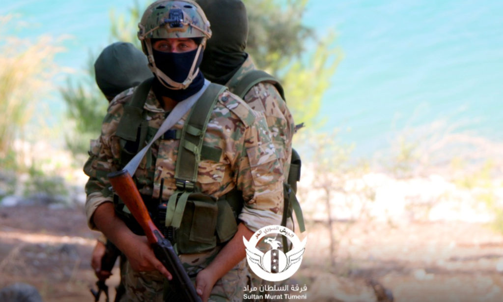 Sultan Murad Division training in Northern Syria - 8 August 2020 (Sultan Murad / Twitter)