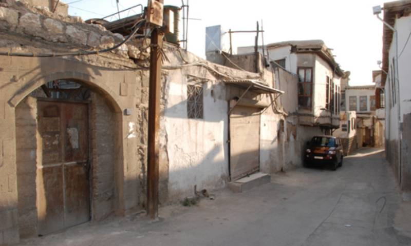 "The ""Jewish Quarter"" in Damascus (Chrystie Sherman)"
