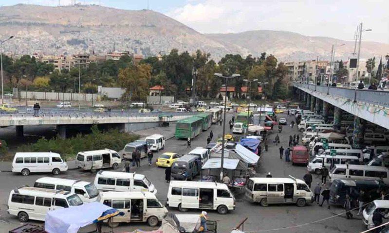 The President Bridge in the Syrian capital Damascus - 12 November 2020 (North Press Agency)