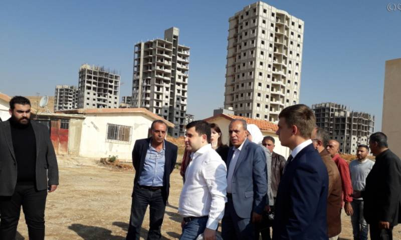 Russian delegation visits some Damascus suburbs to oversee a residential reconstruction operation - 20 November 2020 (the Russian Federal News Agency (FAN)